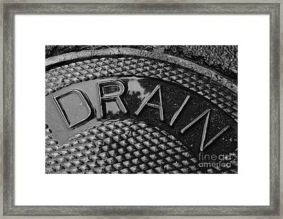Irony Framed Print by Luke Moore