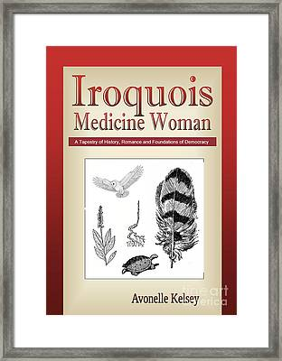 Iroquois Cover Art Framed Print