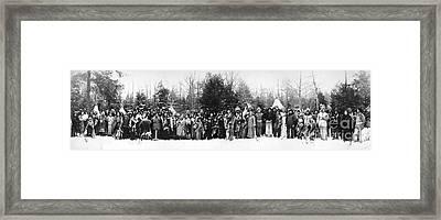 Iroquois Group C1914 Framed Print by Granger
