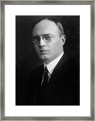Irving Hochstadter Framed Print