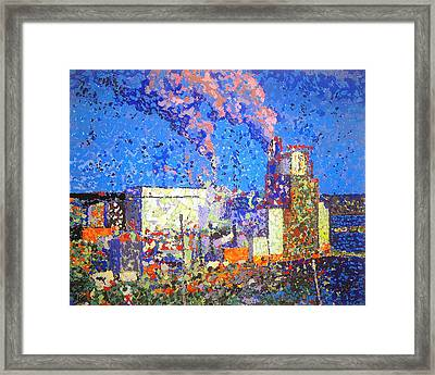 Irving Pulp Mill II Framed Print