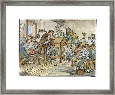 Irving Sleepy Hollow, 1820 Framed Print