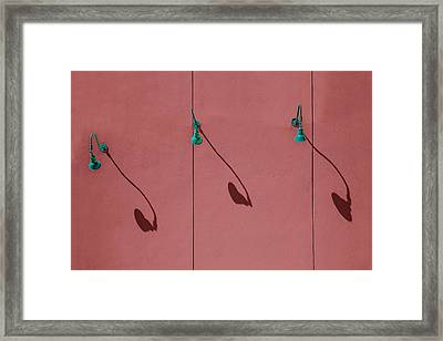 I's About Time Framed Print by Paul Wear