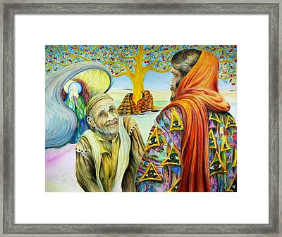 Is Anything Too Hard For God Framed Print by Rick Ahlvers