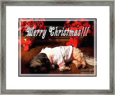 Is It Christmas Yet Framed Print
