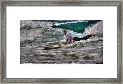 Is It The One? Framed Print