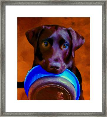 Is It Time Yet? Framed Print by Michael Pickett