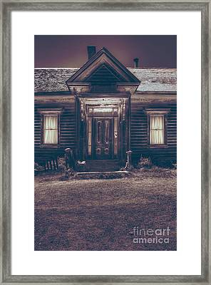Is Someone Home Framed Print