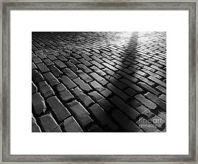 Is Someone There Framed Print by James Aiken