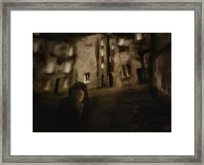 Is This A Dream Framed Print by Gun Legler