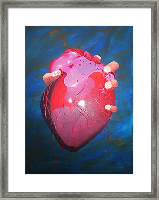 Is This Love? Framed Print by Aileen Carruthers