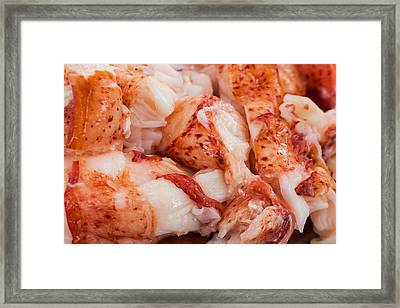 Is Your Mouth Watering? Framed Print