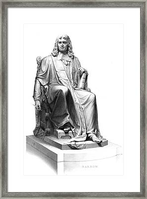 Isaac Barrow Framed Print by Collection Abecasis