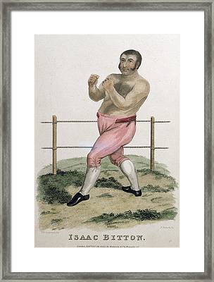 Isaac Bitton, Engraved By P. Roberts Framed Print