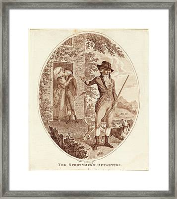Isaac Cruikshank, British 1756-1810-1811 Framed Print by Litz Collection