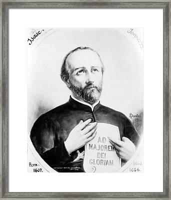 Isaac Jogues (1607-1646) Framed Print