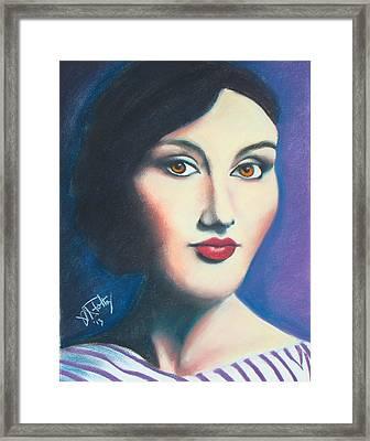 Isabel Framed Print