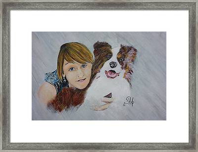 Isabell Framed Print by Klaus Rach