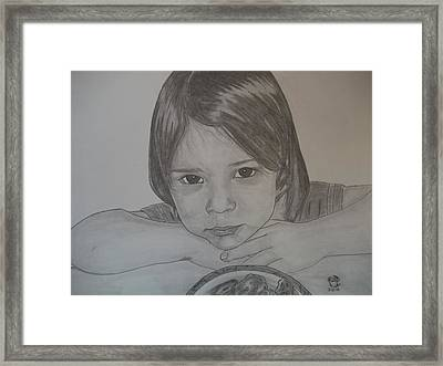 Isabella Framed Print by Justin Moore