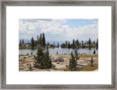 Isberg Edge Framed Print
