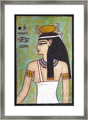 Isis Framed Print by Joseph Sonday