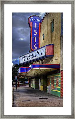 Isis Movie Theater Framed Print by David and Carol Kelly