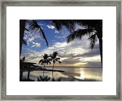 Isla Infinity Framed Print