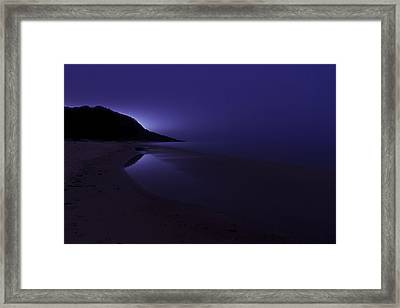 Isla Sorna Framed Print by EXparte SE