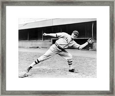 Islam Shriners Baseball Game Framed Print by Underwood Archives