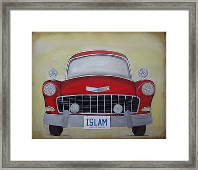 Islam Yours To Discover Framed Print by Salwa  Najm