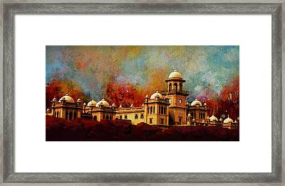 Islamia College Lahore Framed Print by Catf