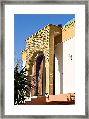 Islamic Archway Framed Print by Tom Gowanlock
