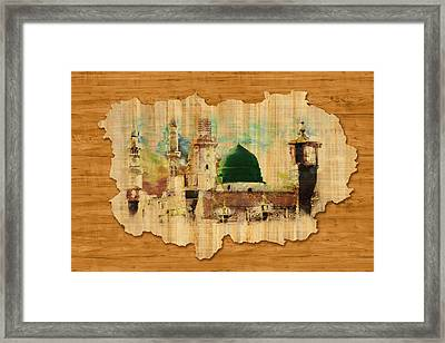 Islamic Calligraphy 040 Framed Print by Catf