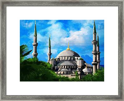 Islamic Mosque Framed Print by Catf