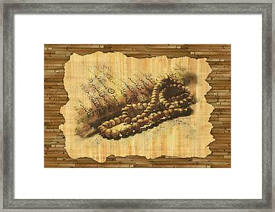 Islamic Painting 013 Framed Print by Catf