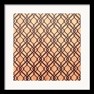 Geometric Abstract Photographs Framed Prints