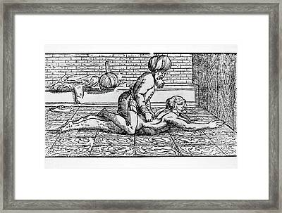 Islamic Physical Therapy Framed Print