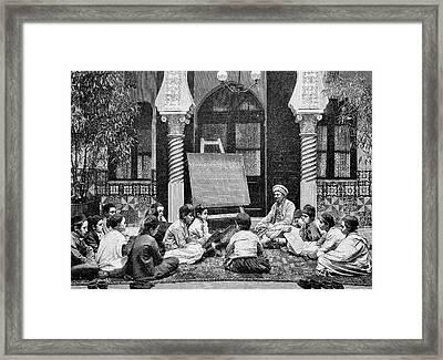 Islamic School Framed Print by Bildagentur-online/tschanz