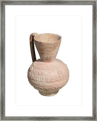 Islamic Terra-cotta Ewer Framed Print