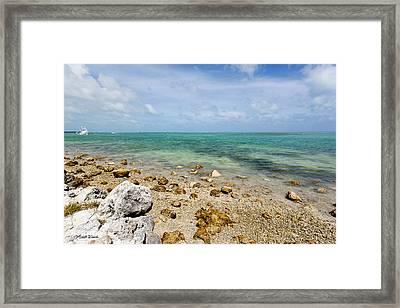 Islamorada Ocean Side Framed Print by Michelle Wiarda