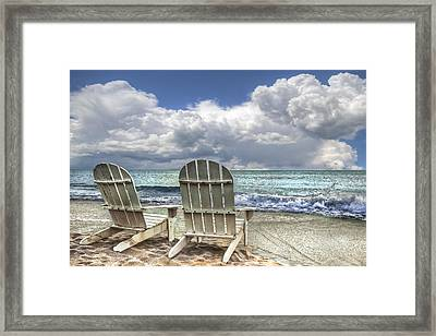Island Attitude Framed Print
