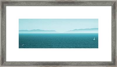 Island Framed Print by Ben and Raisa Gertsberg