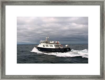 Island Bound Framed Print by Joseph Doyle