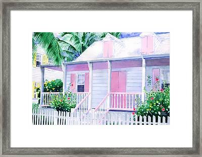 Island Charm Framed Print