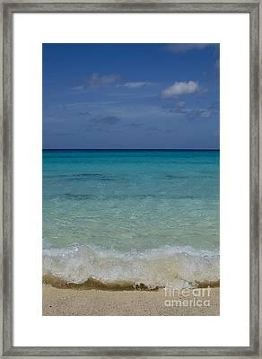 Island Colors Framed Print