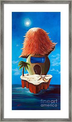 Island Cottage By Shawna Erback Framed Print by Shawna Erback
