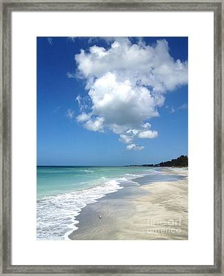 Framed Print featuring the photograph Island Escape  by Margie Amberge