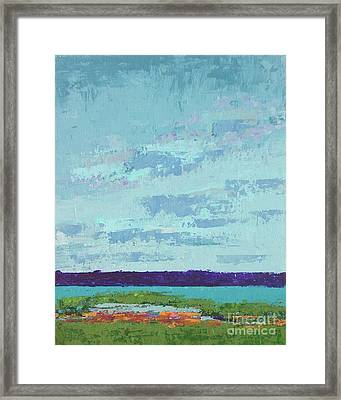 Island Estuary Framed Print by Gail Kent