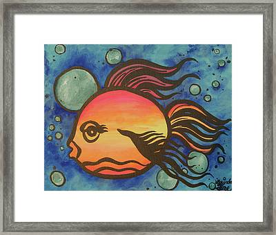 Island Fish Framed Print