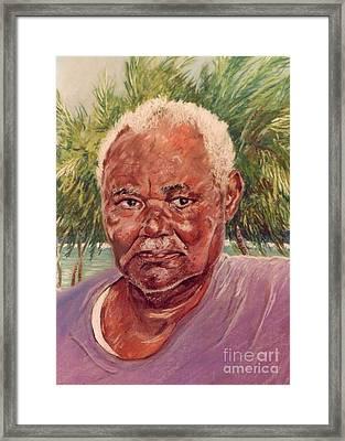 Island Fisherman Framed Print by John Clark